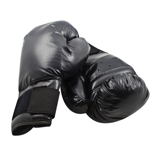 Eduplay-Boxhandschuhe-8oz-Kunstleder-schwarz-1-Paar