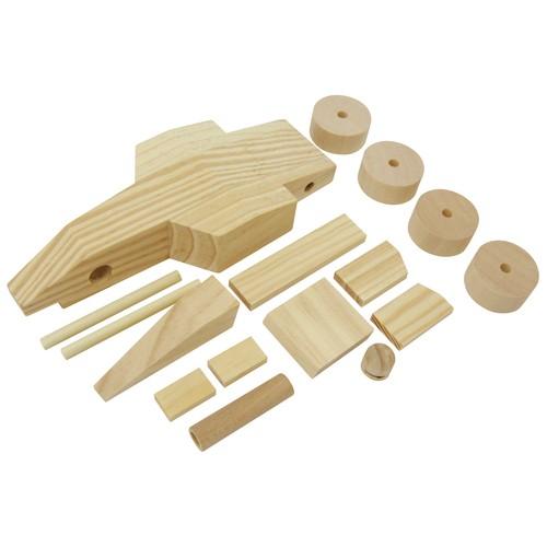Schaukelpferd Holz Zum Selber Machen ~ Holz Rennauto zum Basteln 1er Set von Sunnysue günstig bei mariposa