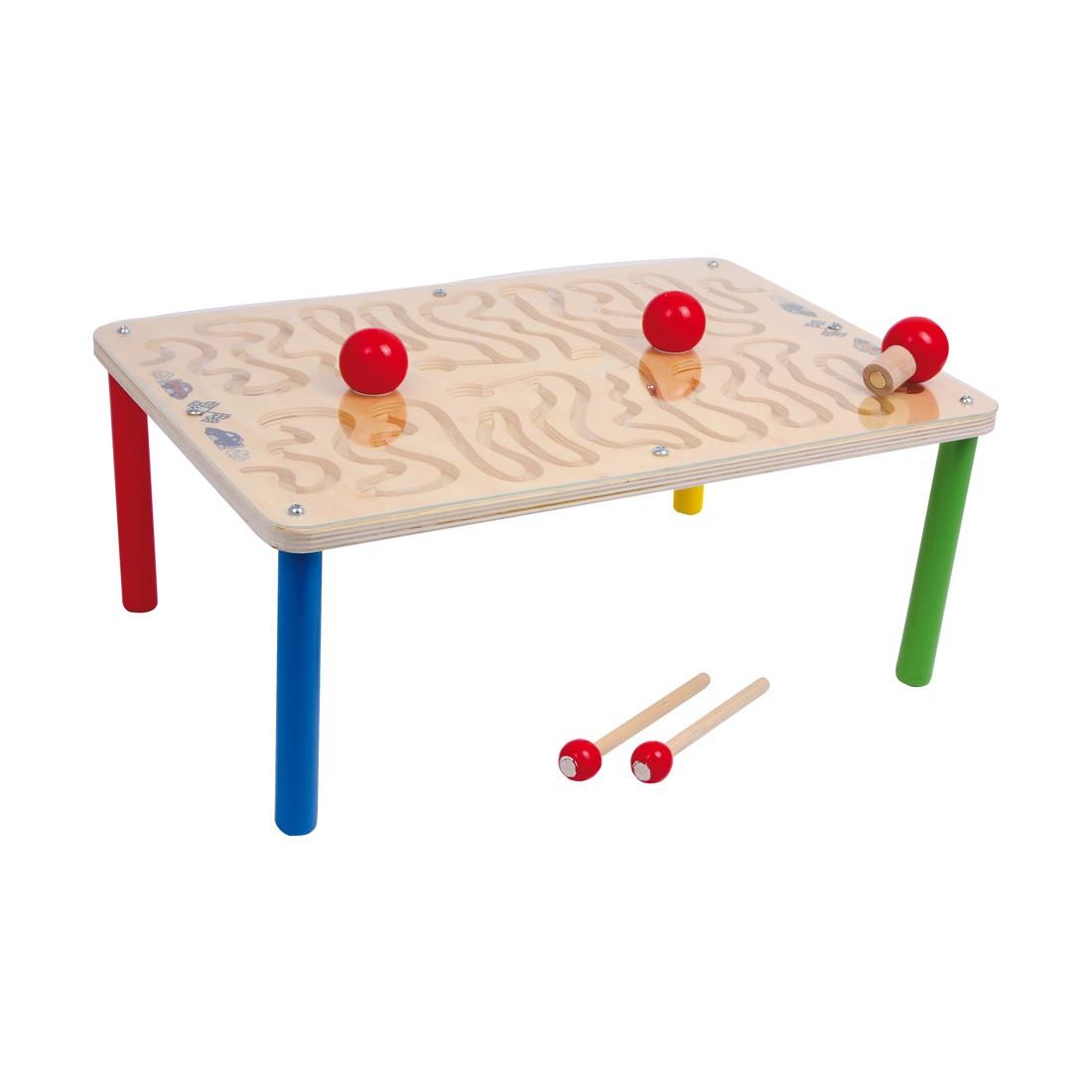 Spieltisch-Magnetparcours