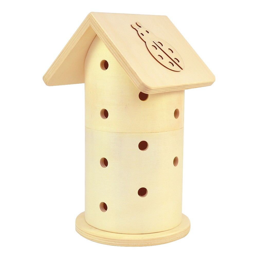 insekten k fer turm aus holz von sunnysue g nstig bei mariposa toys kaufen. Black Bedroom Furniture Sets. Home Design Ideas
