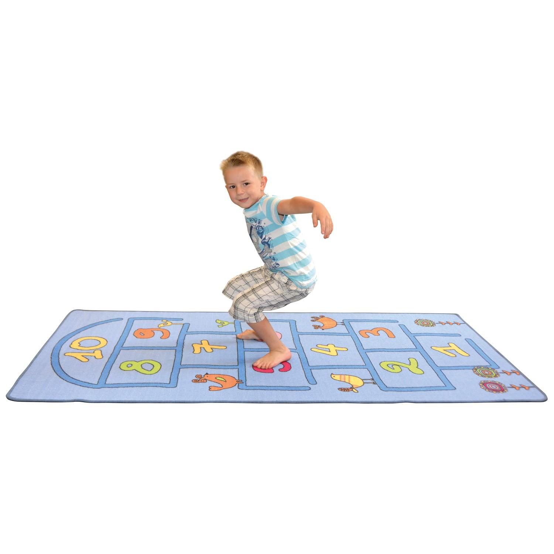Kinder Teppich Hüpfspiel 95x200cm von Eduplay günstig bei