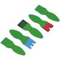Eduplay Strukturpinsel flach, 5er Set
