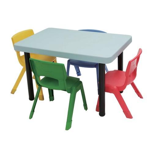 kindertisch klein 60x90cm tisch h he verstellbar von weplay g nstig bei mariposa toys kaufen. Black Bedroom Furniture Sets. Home Design Ideas