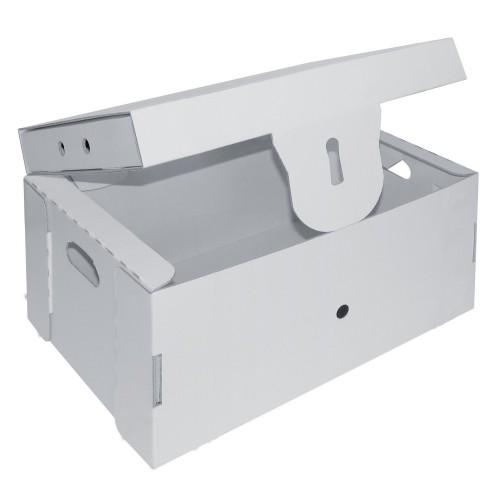 white line karton schatztruhe zum aufbauen und bemalen von joypac g nstig bei mariposa toys kaufen. Black Bedroom Furniture Sets. Home Design Ideas