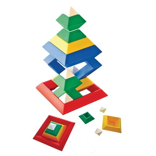 triangle puzzle von eduplay g nstig bei mariposa toys kaufen. Black Bedroom Furniture Sets. Home Design Ideas