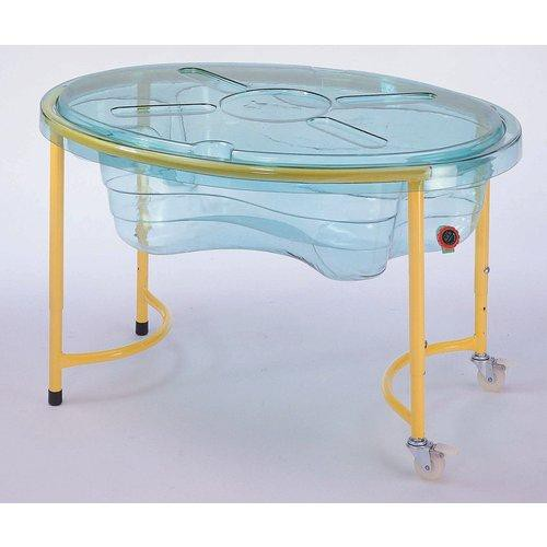 mobiler sand wasser spieltisch transparent von weplay g nstig bei mariposa toys kaufen. Black Bedroom Furniture Sets. Home Design Ideas