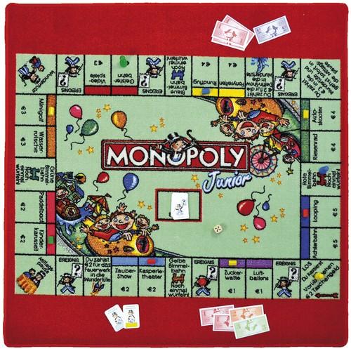 Spiel Teppich Monopoly Junior 92x92cm von Eduplay