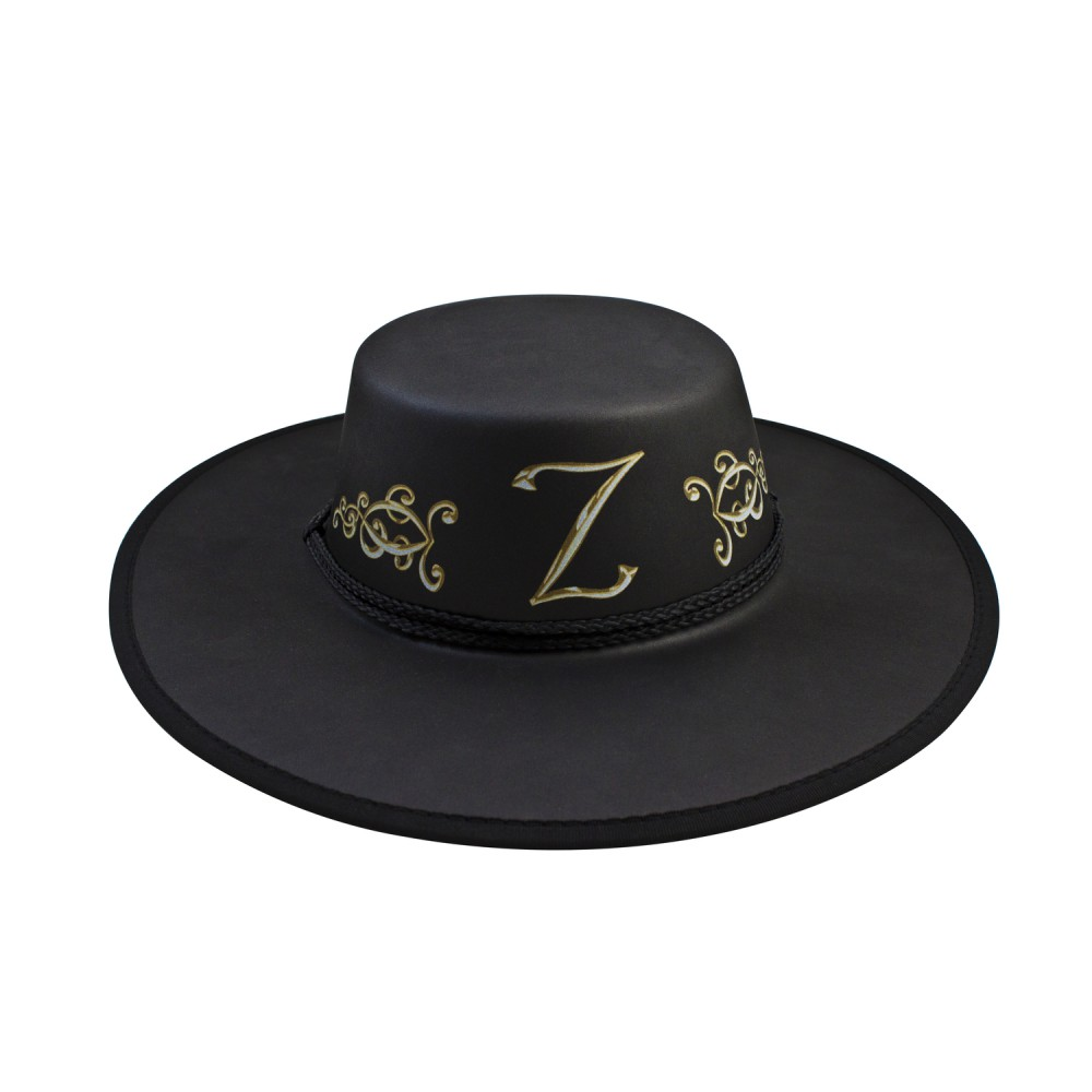 how to make a zorro hat