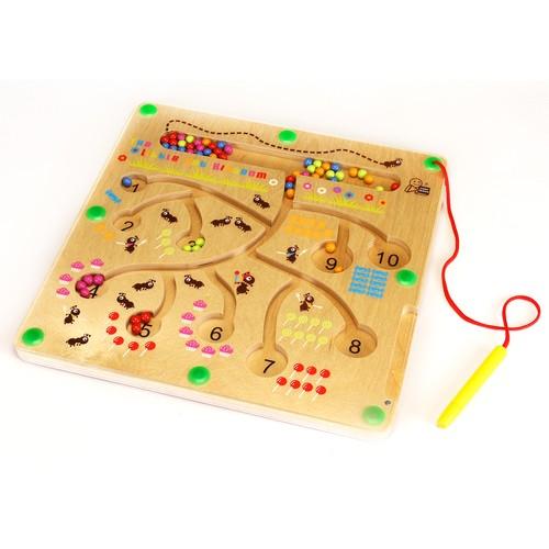 magnetspiel ameisen quadratisch von eduplay g nstig bei mariposa toys kaufen. Black Bedroom Furniture Sets. Home Design Ideas