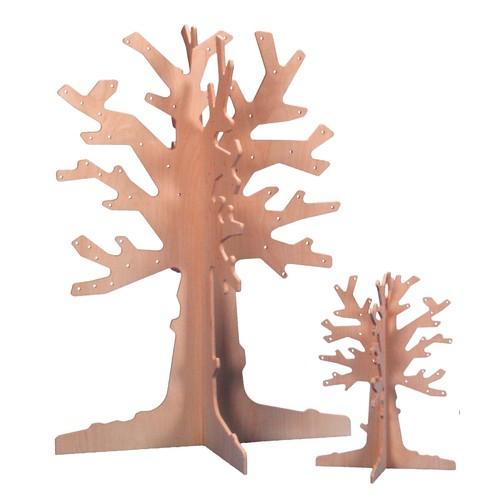 jahresthemen laubbaum aus birkenholz klein 50cm von. Black Bedroom Furniture Sets. Home Design Ideas