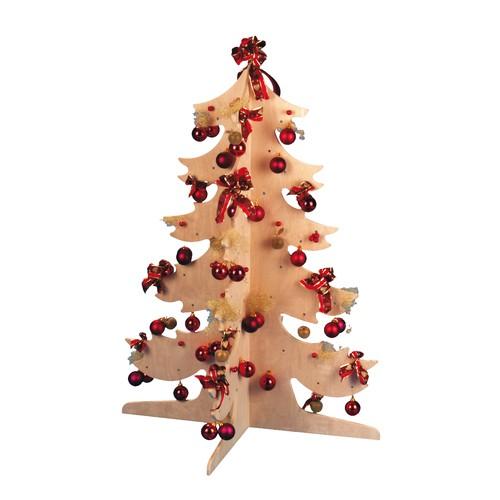 Eduplay tannenbaum aus birkenholz 110 cm gro zum for Deko mit birkenholz
