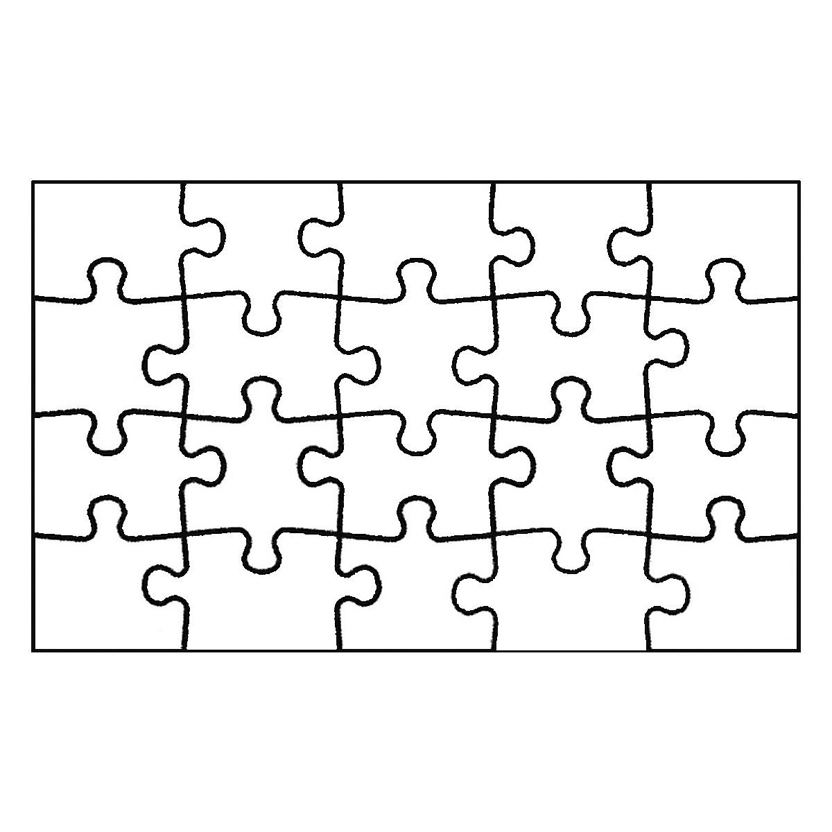 joypac white line puzzle postkarte zum selbst bemalen 6 st ck. Black Bedroom Furniture Sets. Home Design Ideas