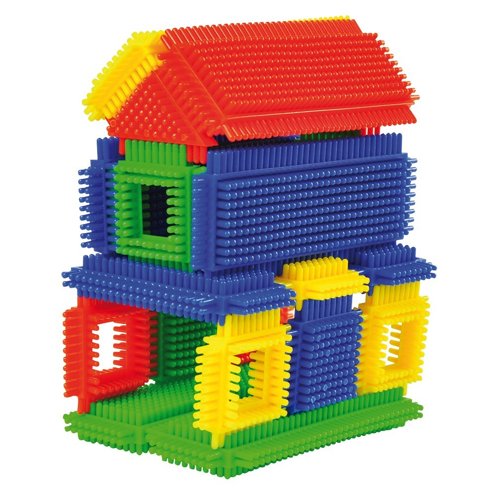 noppen bausteine aus kunststoff 108 teile mit aufbewahrungsbox von eduplay g nstig bei mariposa. Black Bedroom Furniture Sets. Home Design Ideas