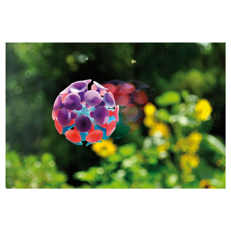 Saugball 6cm aus kunststoff bunt von eduplay g nstig for Kunststoff fensterscheiben