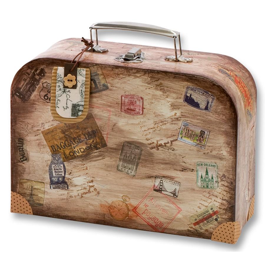 pappschachtel zum bemalen koffer 2 st ck blanko von folia g nstig bei mariposa toys kaufen. Black Bedroom Furniture Sets. Home Design Ideas