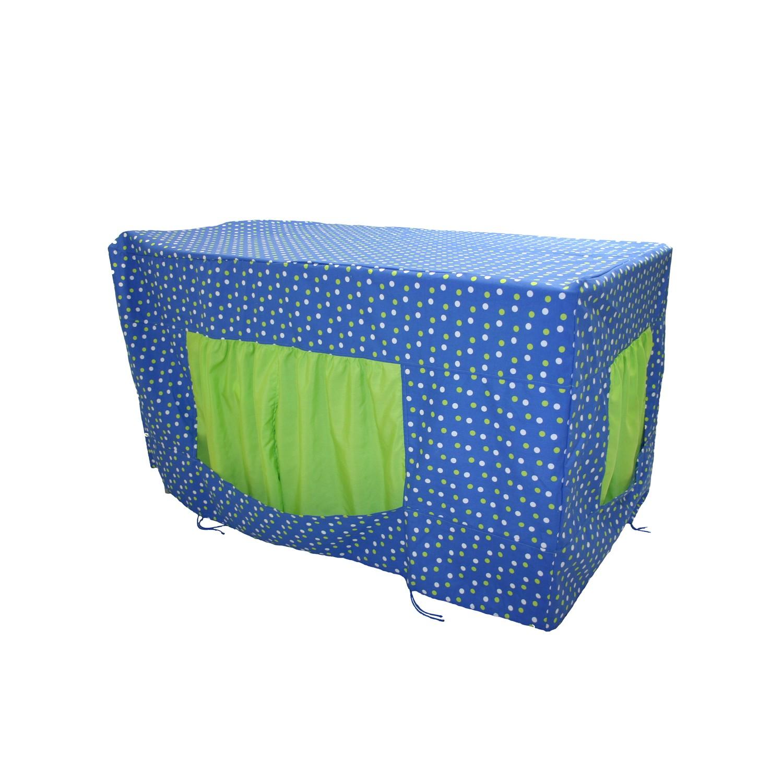 eduplay tischzelt r uber h hle blau gr n spielzeug kinderzimmer spielecke spielecke. Black Bedroom Furniture Sets. Home Design Ideas