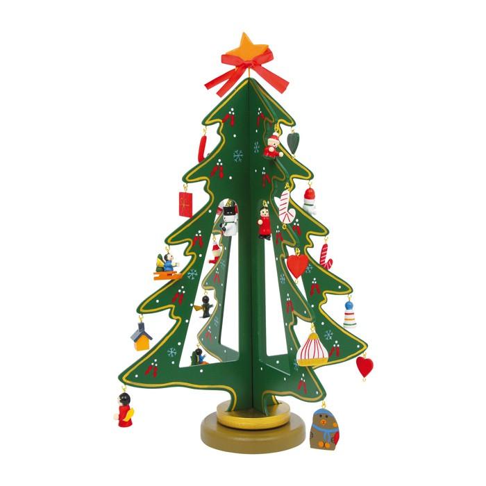 Deko weihnachtsbaum winterzauber mit schmuck von small - Dekoration winterzauber ...