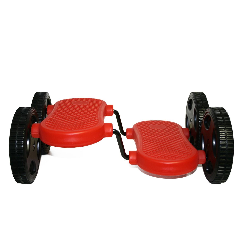 stepper walker pedalroller mit 4 r dern rot von eduplay. Black Bedroom Furniture Sets. Home Design Ideas