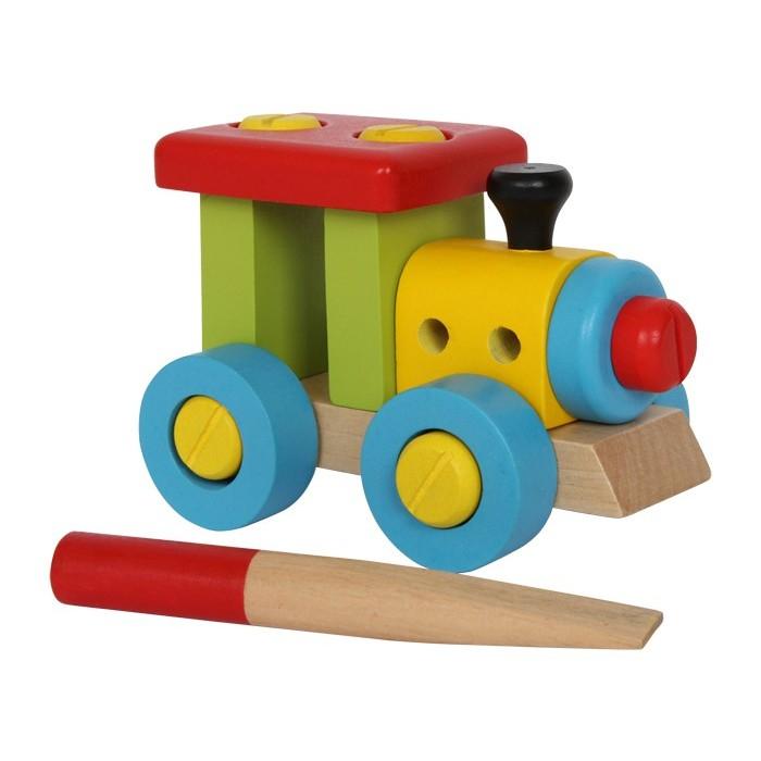Spielzeug lok zum selberkonstruieren von small foot
