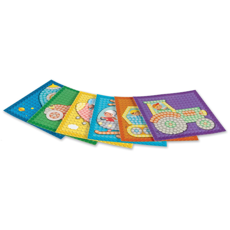 card set mosaic little traffic karten zum bekleben von. Black Bedroom Furniture Sets. Home Design Ideas